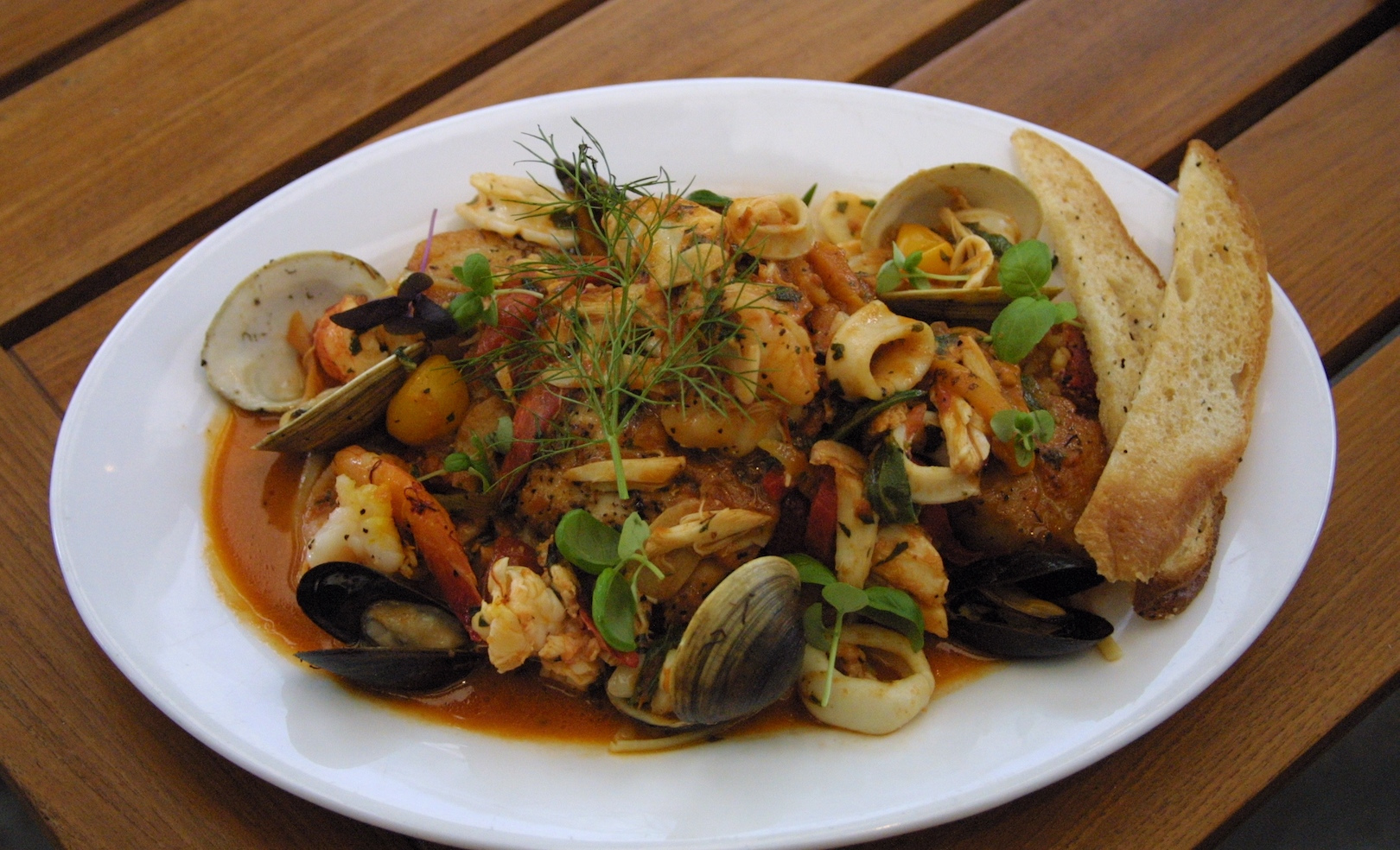 Frutti Di Mare by Chef Thomas Cook